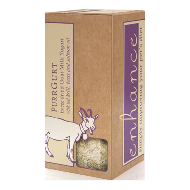 Steve's Enhance PurrGurt Freeze Dried Raw Goat's Milk 1.60z With Bottle I015179