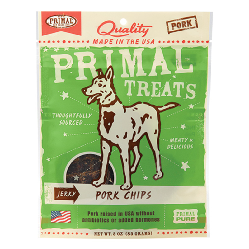 Primal™ Jerky Pork Chips For Dogs I015187