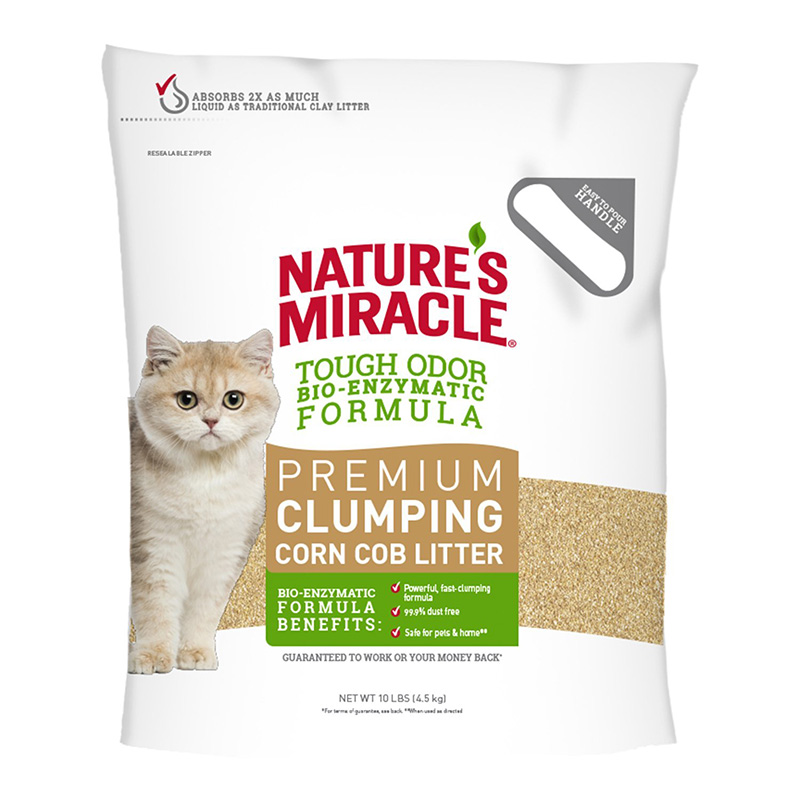 Nature's Miracle Natural Care Cat Litter 10 lbs. I015189