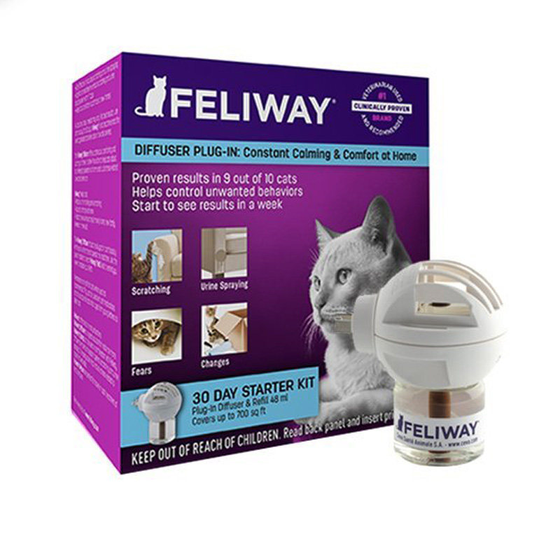 Feliway Classic Diffuser 30 Day Starter Kit I015201
