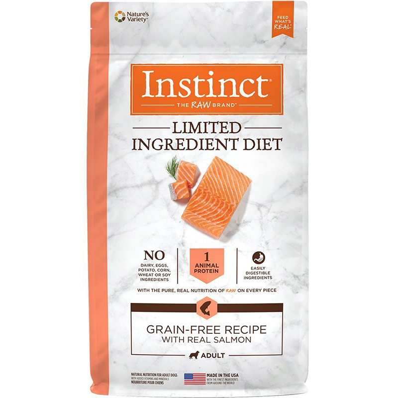 Instinct Limited Ingredient Diet Grain-Free Recipe with Real Salmon I015258b
