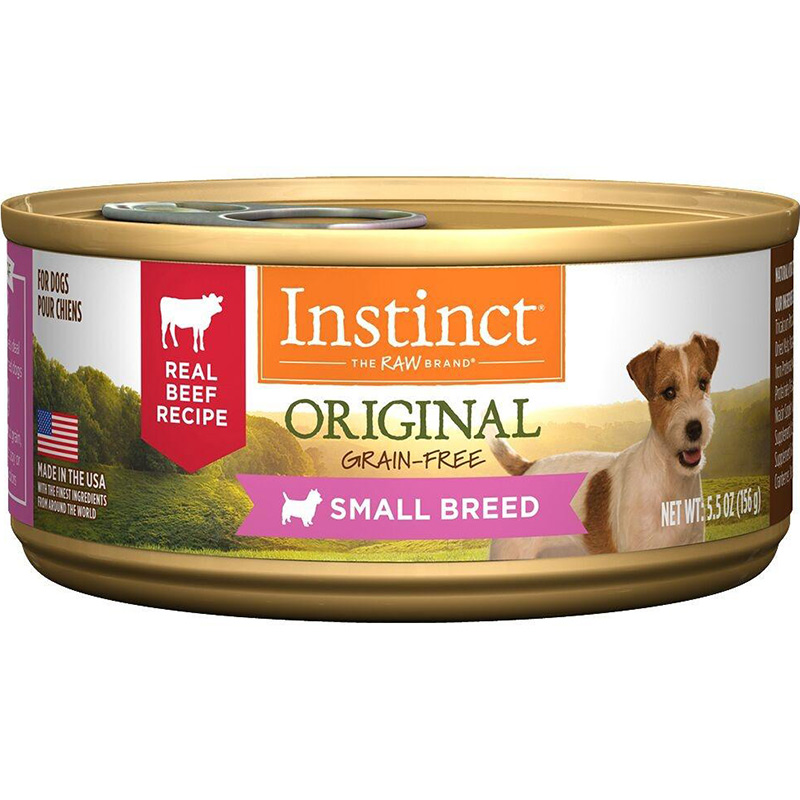 Nature's Variety Instinct Original Real Beef Recipe for Small Breed Dogs I015262b