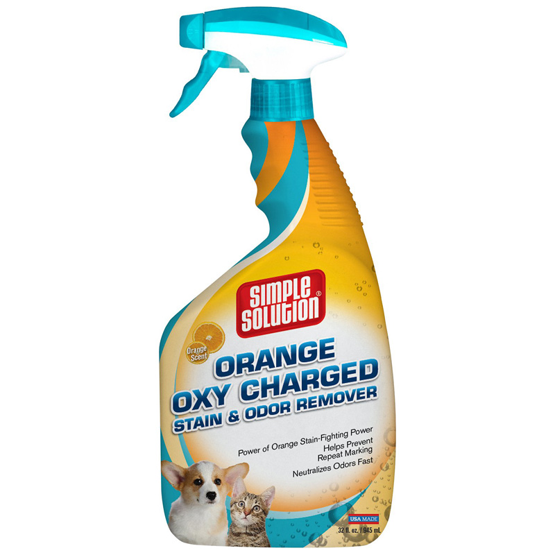 Simple Solution® Orange Oxy Stain & Odor Remover Spray 32oz I015281