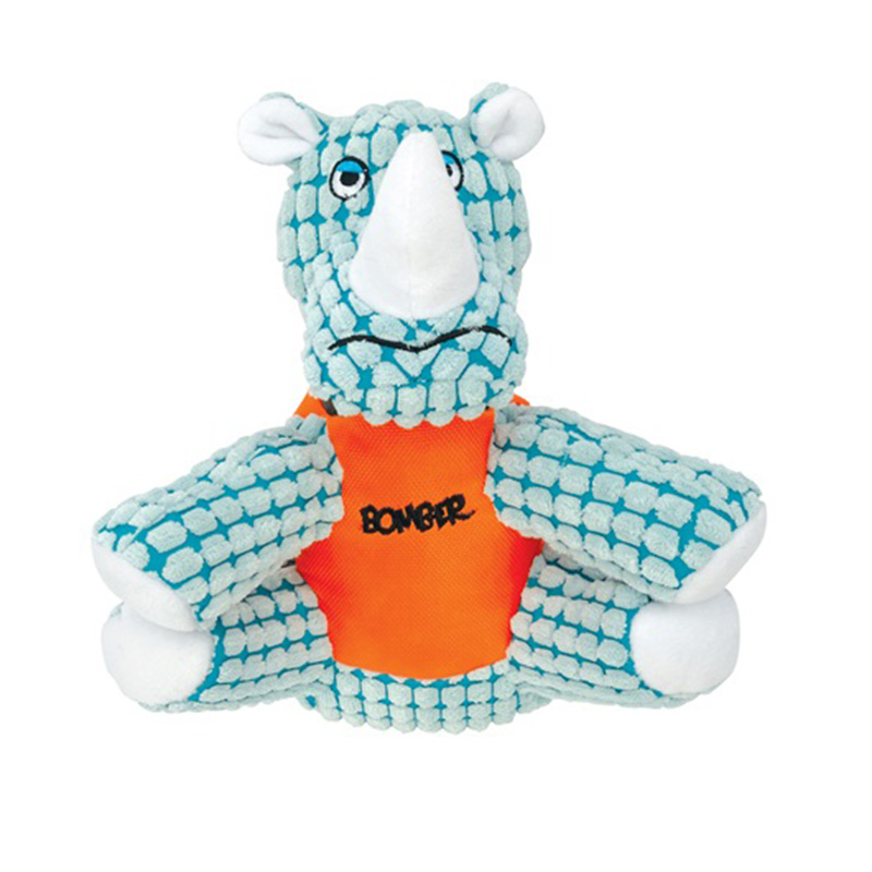 Zeus Bomber Special Forces Team Dog Toy - Spike the Rhino I015282b