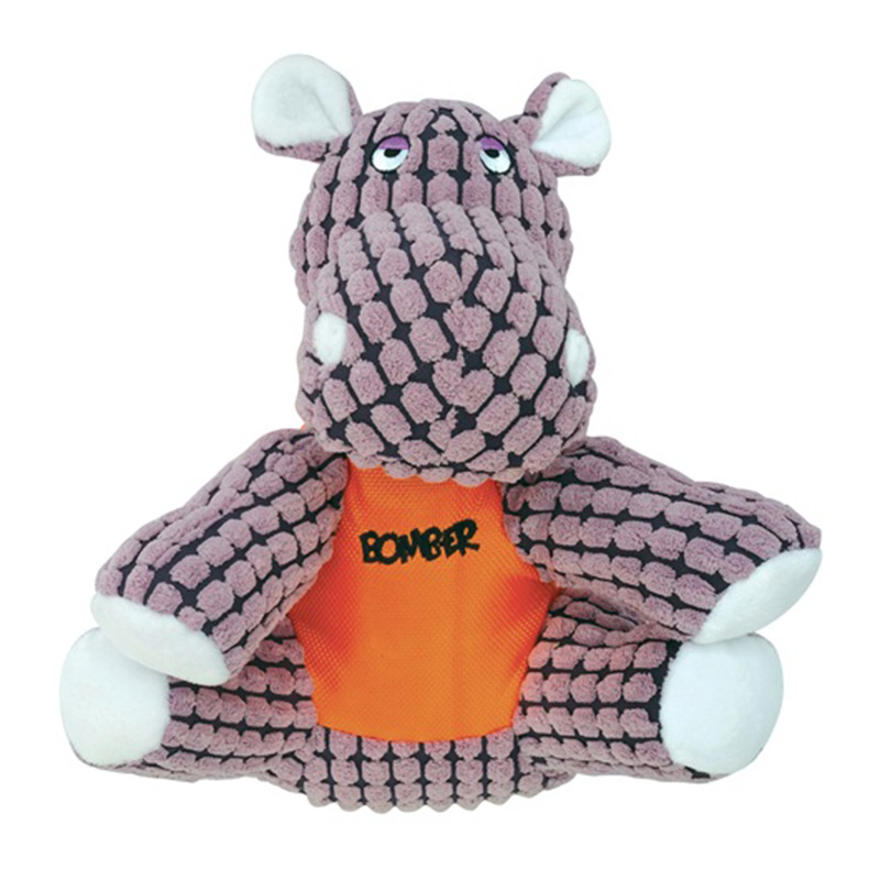 Zeus Bomber Special Forces Team Dog Toy - Tank the Hippo I015289