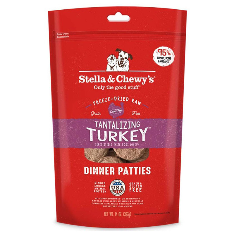 Stella & Chewy Freeze Dried Turkey Patties I015295