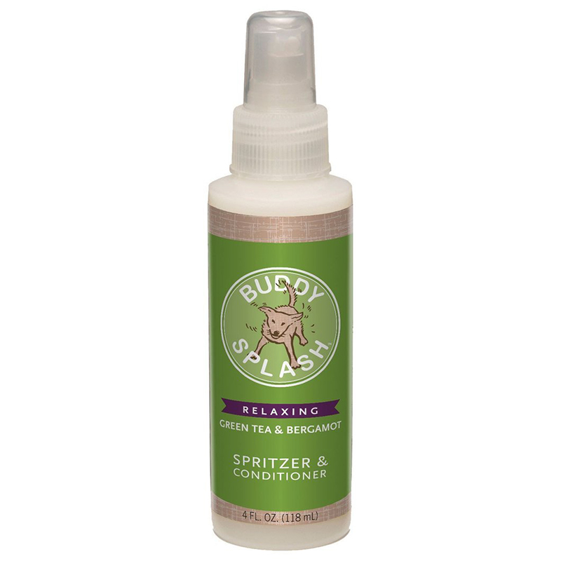 Buddy Wash Green Tea & Bergamot Dog Spritzer & Conditioner 4oz I015303