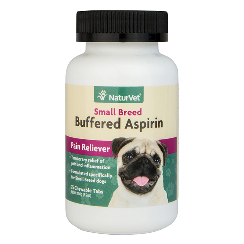 NaurVet® Buffered Aspirin For Small Breed Dogs 75 ct. Chewable I015310