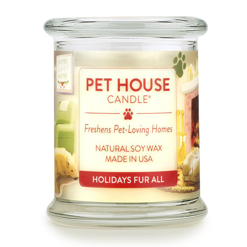 8.5oz Holidays Fur All Candle Pet House Candles I015338