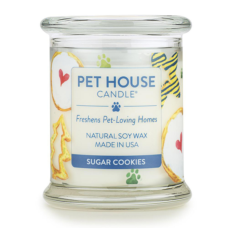 One Fur All Pet House Candle Sugar Cookie 8.5 oz. I015340