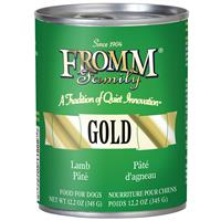 Fromm Family Gold Lamb Pate Dog Food Can 12.2 oz. I015444
