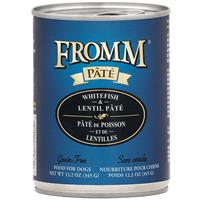 Fromm Pate Grain-Free Whitefish & Pate Dog Food Can 12.2 oz. I015446