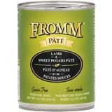 Fromm Pate Grain-Free Lamb & Sweet Potato Dog Food Can 12.2 oz. I015450
