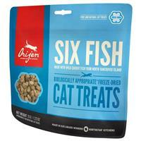 Orijen Freeze Dried Six Fish Cat Treats 1.25 oz  I015540