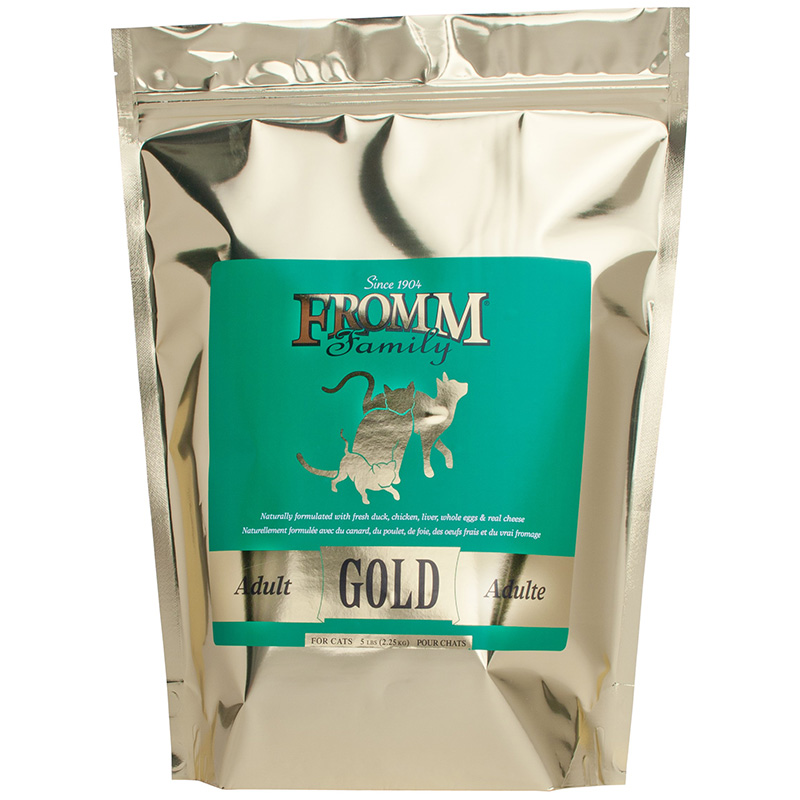 Fromm Family Adult Gold Cat Dry Food 5 lbs. I015655