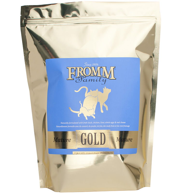 Fromm 5# Cat Gold Mature Adult I015656