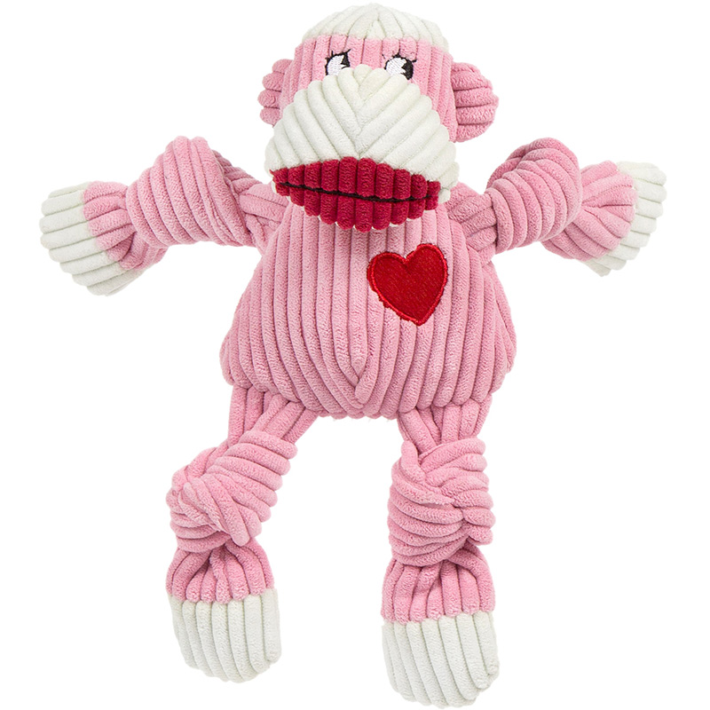 HuggleHounds Ms Sock Monkey Knottie I015716b