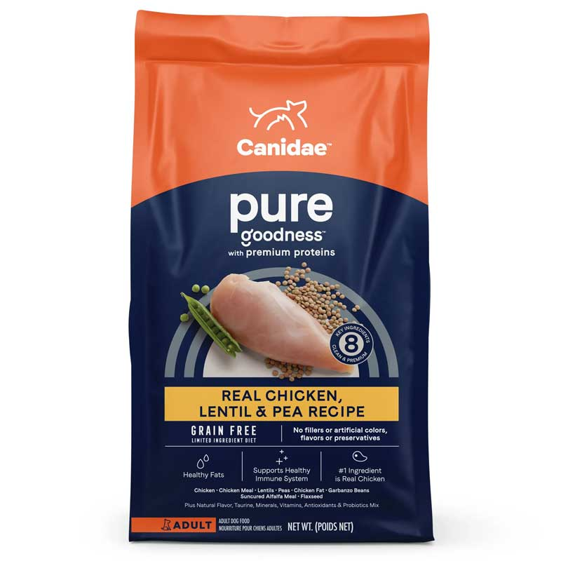 CANIDAE Grain Free PURE Ridge Dog Food I015744b