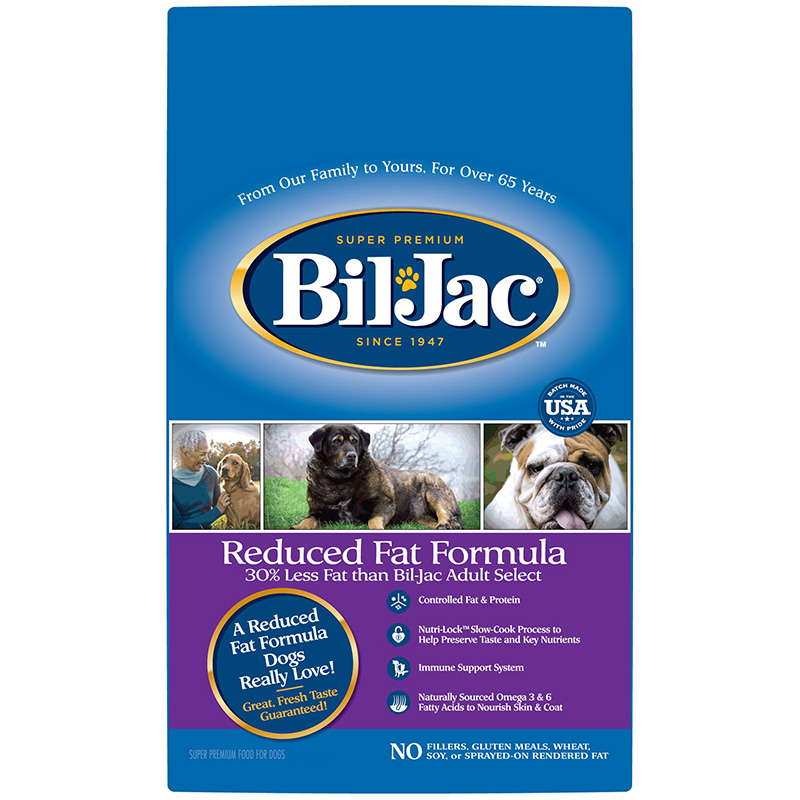 Bil-Jac Reduced Fat Formula Dry Dog Food 6 lbs. I015759