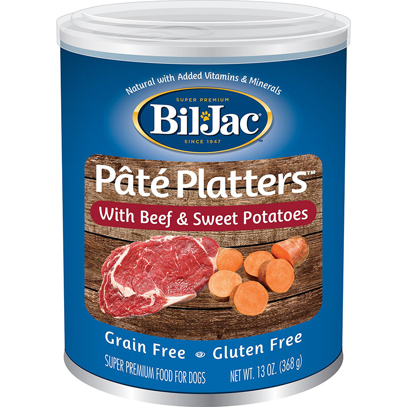 Bil-Jac Pâté Platter with Beef & Sweet Potatoes 13 oz. I015765