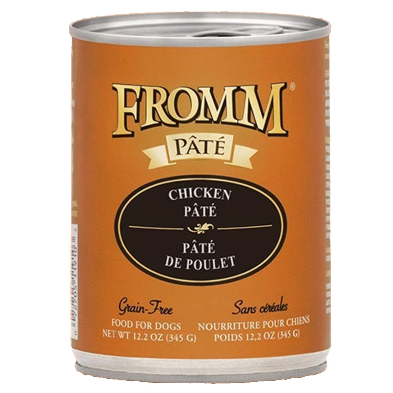 Fromm Chicken & Rice Pâté Food for Dogs 12.2 oz. I015811