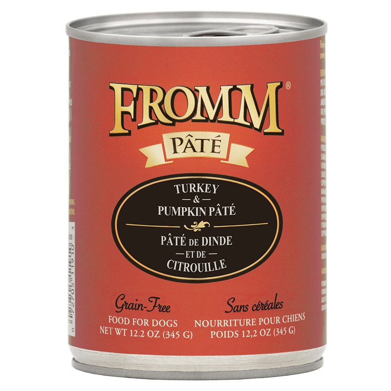 Fromm Turkey, Duck, & Sweet Potato Pâté Food for Dogs 12.2 oz. I015813