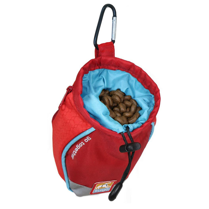 Kurgo Go Stuff-It Dog Treat Bag Red I015896