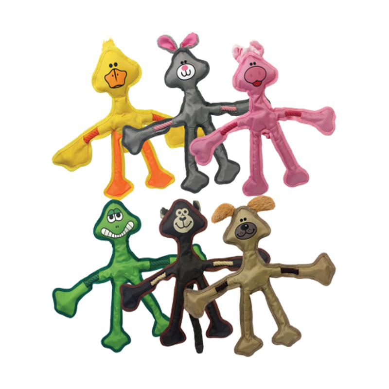 Multipet Skele-Ropes Dog Toy I015933
