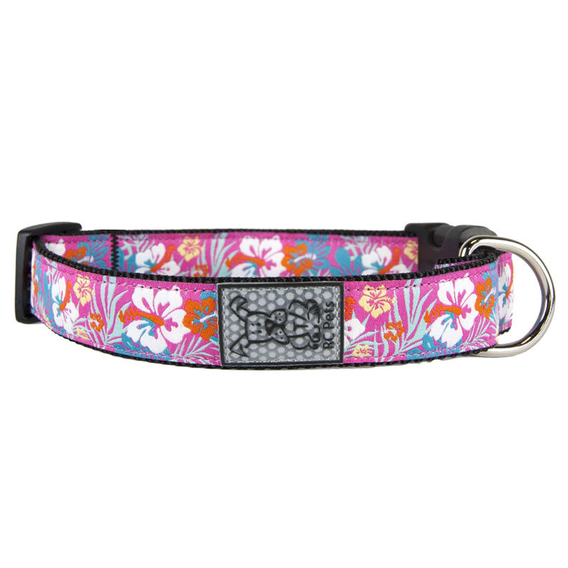 "RC Pet Products Hibiscus Clip Collar Extra Small 5/8"" x 7""-9""  I015966"
