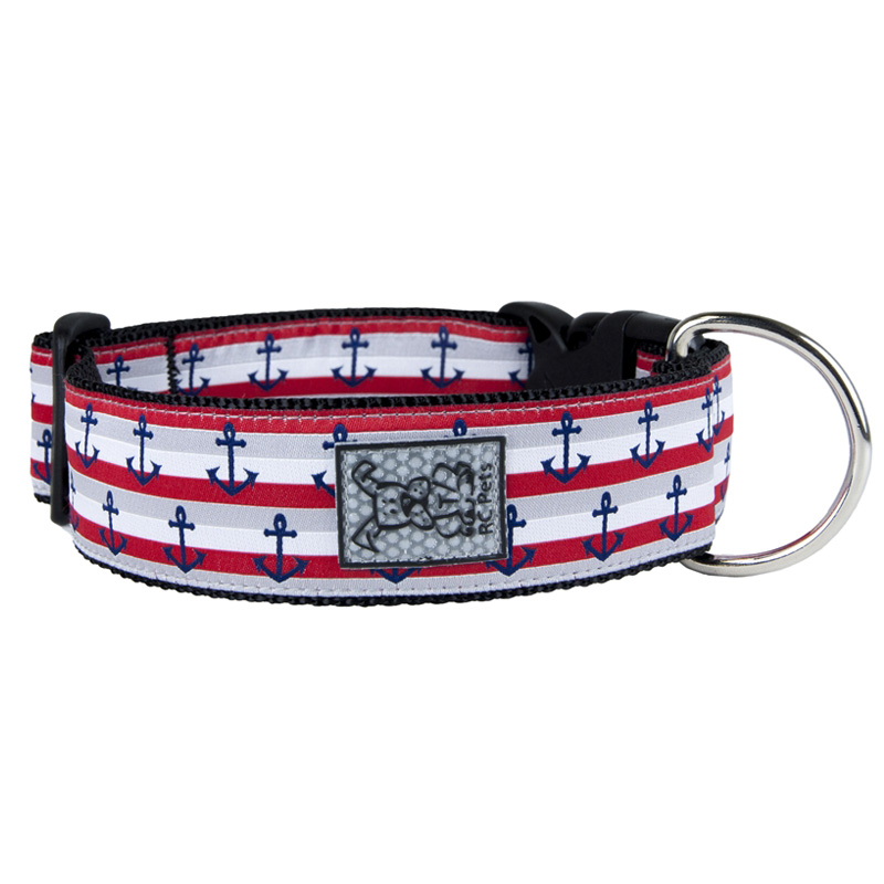 RC Pet Products Nautical Wide Clip Collar I016090