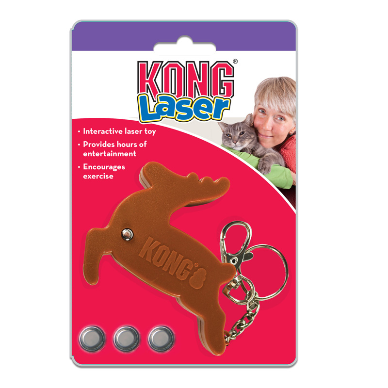 KONG Reindeer Laser Cat Toy  I016142