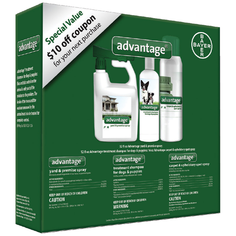 Bayer Advantage Flea & Tick Treatment Bundle for Dogs & Puppies I016181