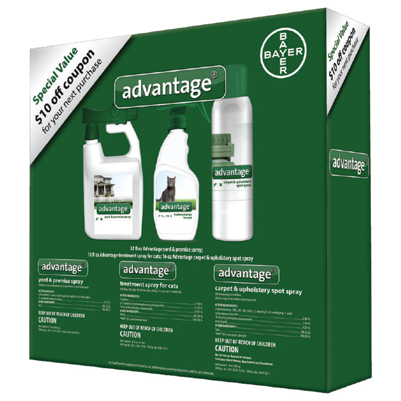 Bayer Advantage Flea & Tick Treatment Bundle for Cats I016182