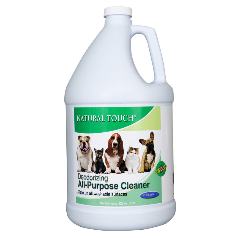 Nilodor Natural Touch Deodorizing Cleaner Concentrate Gallon  I016324