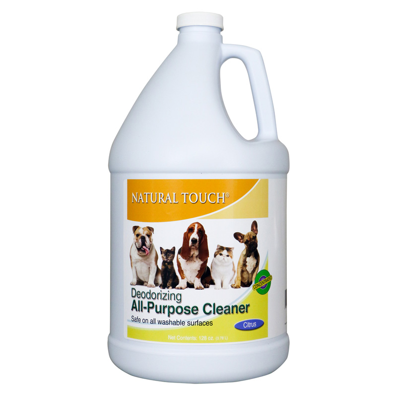 Nilodor Citrus Deodorizing Cleaner Concentrate Citrus Gallon  I016329