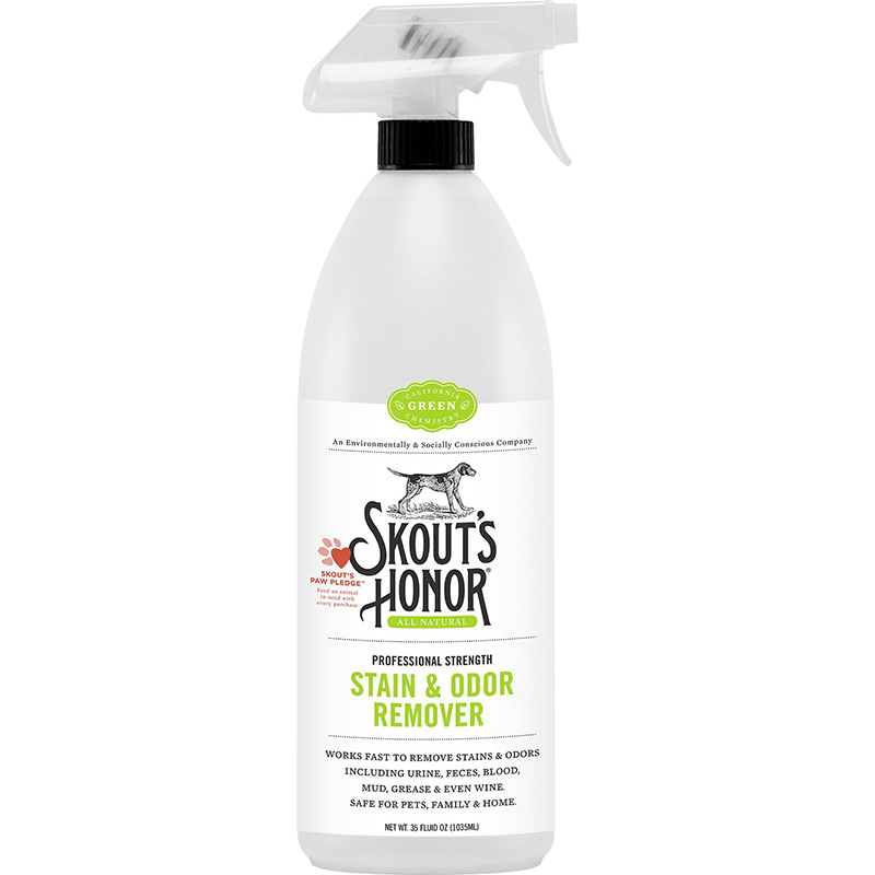 Skout's Honor Stain & Odor Remover Trigger Spray Bottle 35 oz. I016341