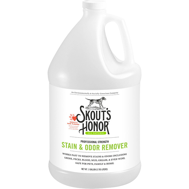 Skout's Honor Stain & Odor Remover Gallon I016346