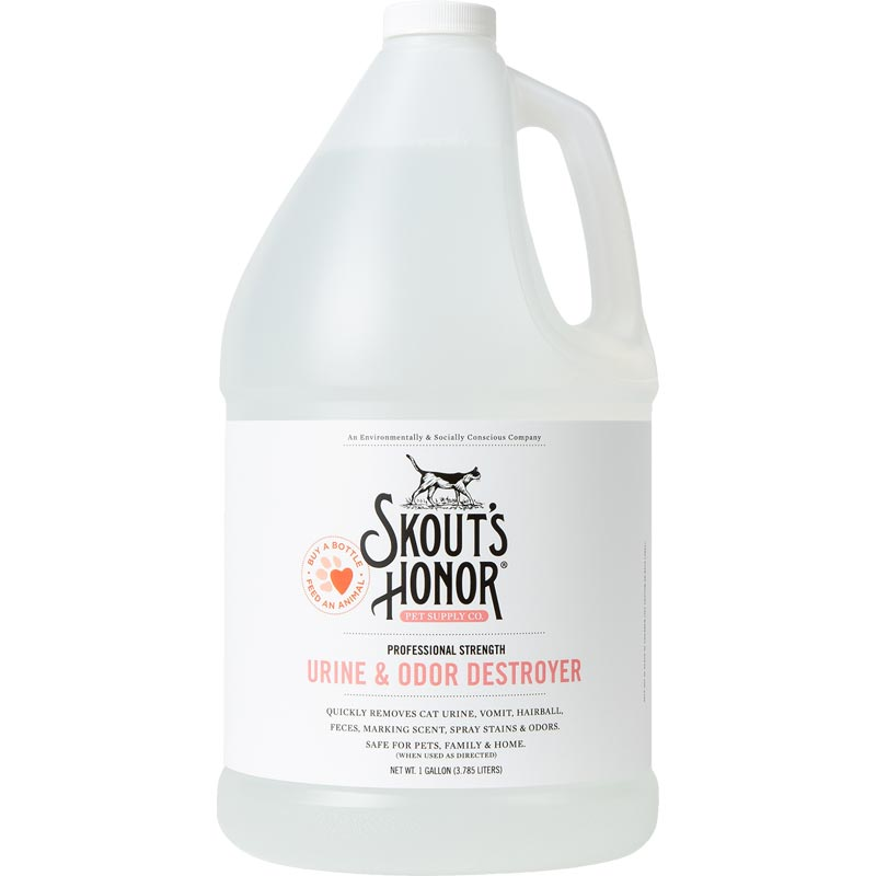 Skouts Honor Cat Urine and Odor Destroyer Gallon I016348
