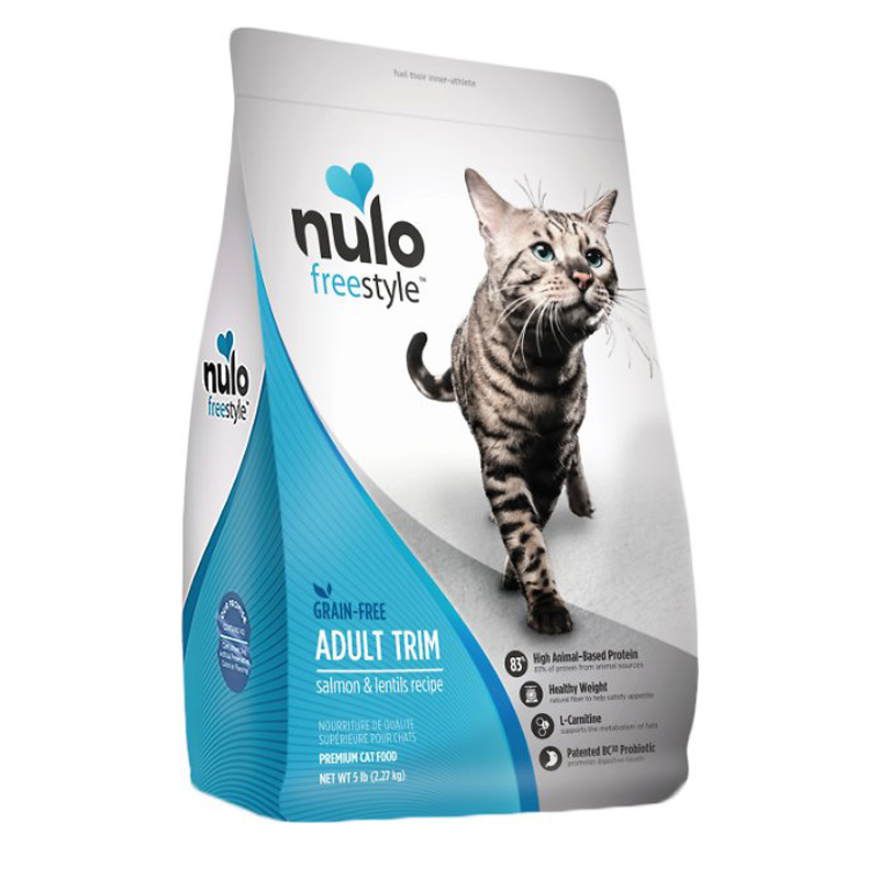 Nulo Freestyle Adult Trim Salmon and Lentils Recipe Cat Food 5 lb I016367