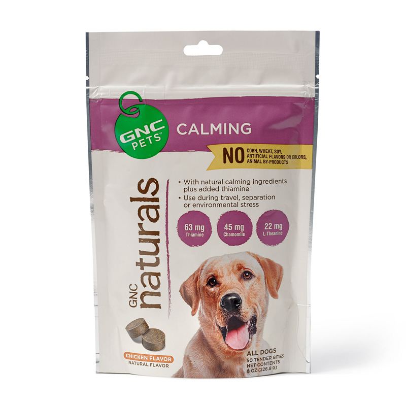 GNC Pets GNC Naturals Calming Tender Bites Chicken Flavor for Dogs 50 ct  I016395