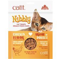 Catit Nibbly Cat Treats Chicken Formula 3.2 oz. I016423