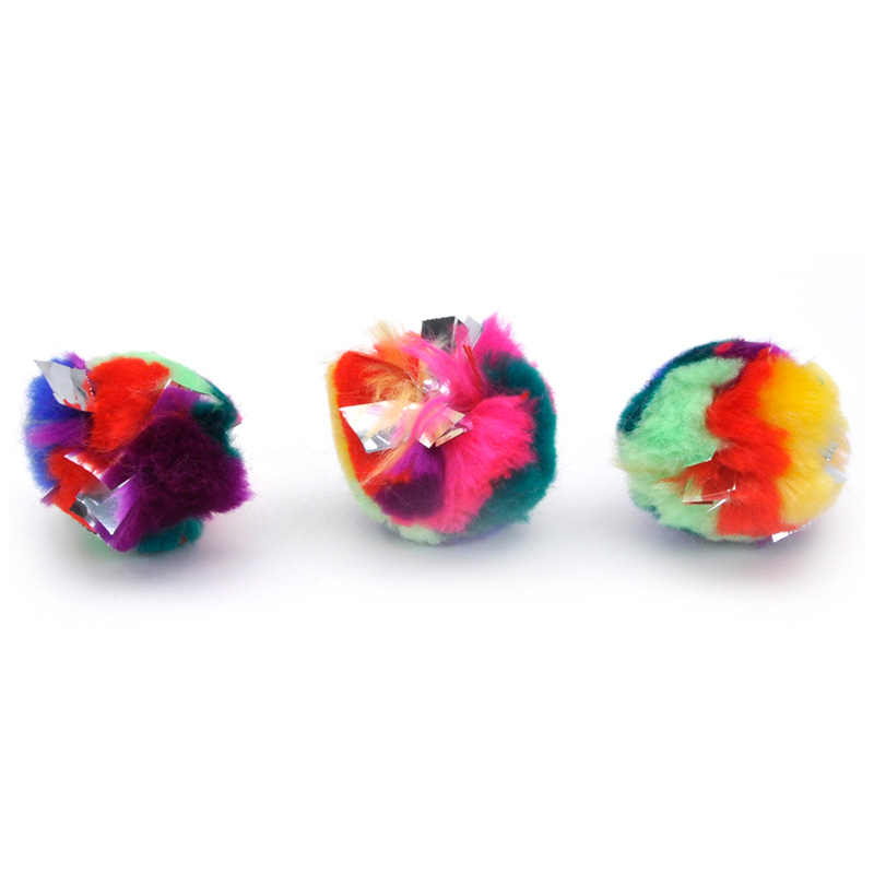 Coastal Crinkle Ball Cat Toy 2.25 in I016452
