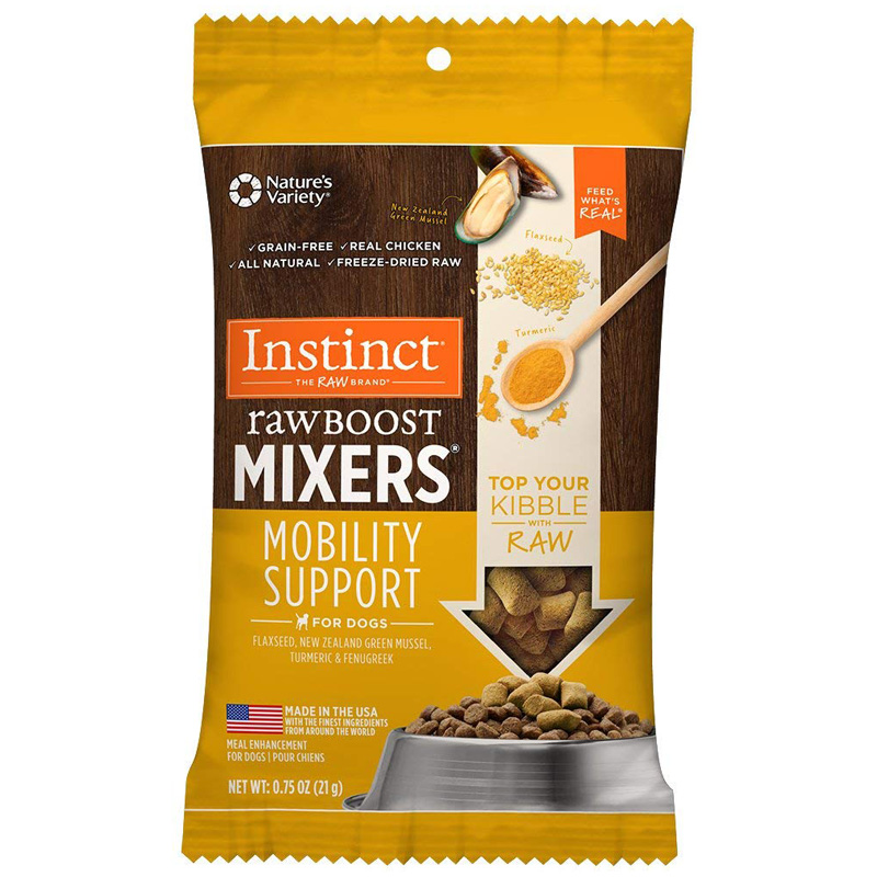 Nature's Variety Instinct Raw Boost Mixers Mobility Support for Dogs  I016519b