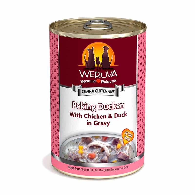 Weruva Peking Duck Classic Dog Food With Chicken & Duck Gravy 14oz I016671