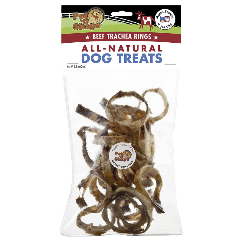 Pet'n Shape Beef Trachea Rings 2.5 oz  I016684