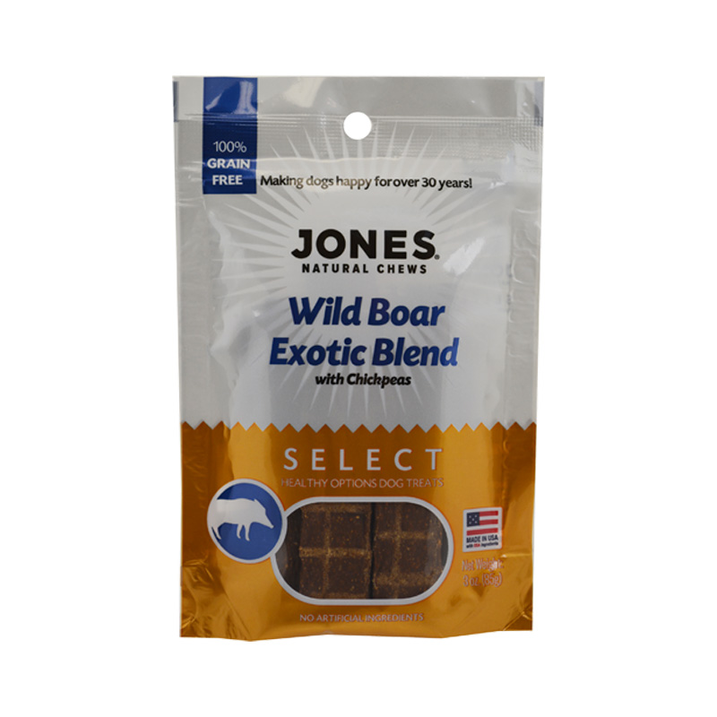 Jones Natural  Wild Boar Treat 3oz I016726