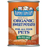 Nummy Tum Tum Organic Sweet Potato for All Your Pets 15 oz. I016738