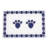 PetRageous Pet Paws Placemat Cobalt Blue I016740