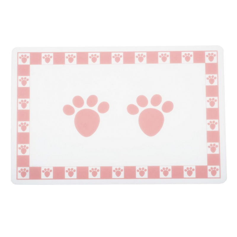 PetRageous Pet Paws Placemat Pink I016741