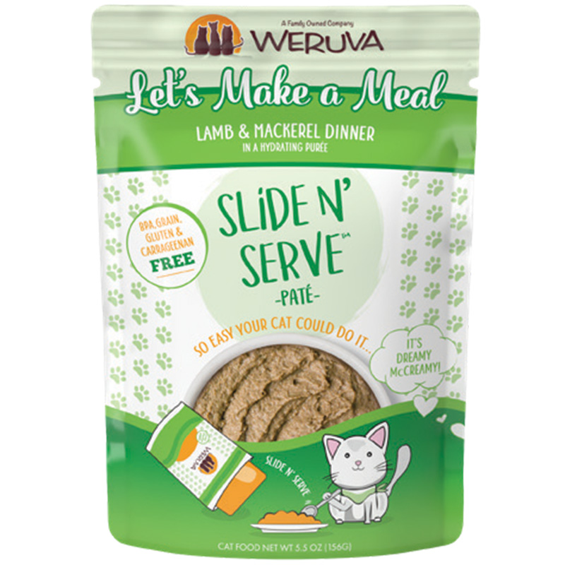 2.8oz Let's Make A Meal  Weruva Lamb/Mackerel Dinner I016790b